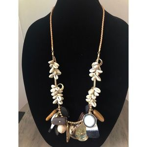 Zara Statement Necklace with Shells